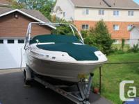 The 240 Sundeck is just what you've always wanted for a