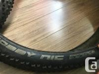 """3 used but serviceable 29"""" MTB tires. I have 2 Maxxis"""