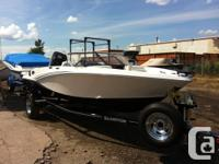 2014 Glastron GTSF 160 Features: 115HP Mercury Marine