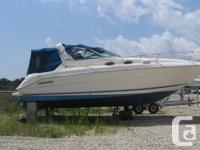 Twin 350 Inboard. Full camper. New convertible top from