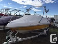 2010 Rinker 192 BowriderRoswell Tower with bimini,