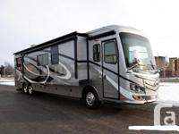 2013 Monaco Diplomat 43RFT with three slides and ONLY