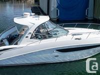 This Sea Ray is virtually brand new with only 60hrs. on