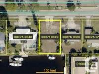 Sailboat Access quarter acre lot with 80 feet of