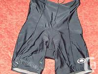 Great pair of cycling shorts made in the USA , well