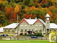 We have a week reserved at Calabogie Top Hotel in