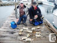 Come fish for Coho and Spring Salmon,Halibut and Crab