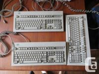 Used, For sale are 3 vintage keyboards. The famous IBM model for sale  British Columbia