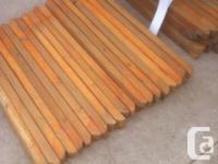 spruce deck railing 2x2x3'