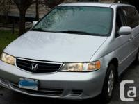 Reliable 2004 Honda Odyssey Minivan with no mechanical