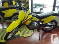 Also in stock DR-Z125 small tireInspired by Suzuki's