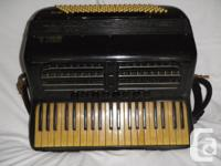3 beautiful examples of 1940's era Italian accordions.