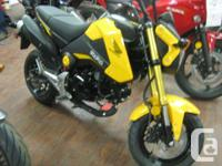 It�s All About The Fun. fuel injected, 125cc, single