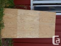 BRAND-NEW PLYWOOD. I HAVE CONCERNING 50 SHEET OF 3/4""