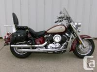 2001 YAMAHA VSTAR 1100 CLASSICLooking for a classic