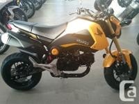This small yet sporty grom will give you everything you