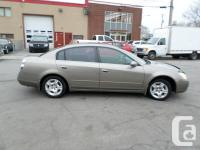 2003 NISSAN ALTIMA AUTOMATIC ICE COLD AIR CONDITIONING.