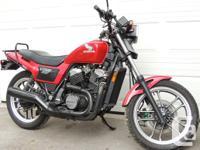 For Sale. 1984 HONDA VT 500 Ascot V Twin. Like-new