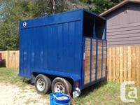 2 Horse bumper pull trailer in exceptional condition,