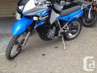 2008 Kawasaki KLR650Whether crossing the city or