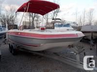 1991 Four Winns 200 Candia Deck Boat with a 5.8 OMC