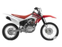 The CRF150F takes easy operation to the max: Its