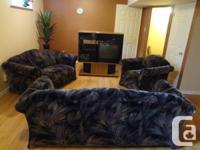 3 item furnishings established & TELEVISION storage