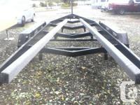 3 Axle Heavy Duty Boat Trailer 18000 lbs GVW 35 ft.