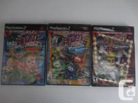 Selling 3 brand new Buzz! games.     Condition: all