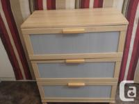 THIS 3 DRAW HOBBY DRESSER HAS LARGE DEEP DRAWS TO HOLD