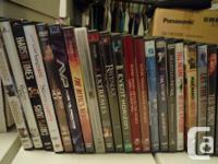 Great mix of DVD's. $3 Each. **Ultimate Avengers and