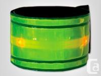 3 Fuel belt Snapster LED reflective bracelets from the