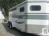 3 Horse trailer for rent on Vancouver Island, email