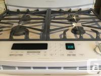 Kitchen aid gas range with convection oven (gas).
