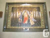 Up for sale is a lot of 3 BEAUTIFUL Botticelli replica