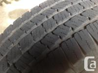 I have 3 good Michelin P-235/10 R16 LTX tires as we