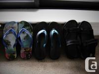 Brand design. 3pr sandals for $20Total, Tokyo Laundry