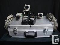 3 Panasonic wv-CP234 Cameras w/ 3.5-8mm lens   3