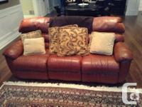 I have a nice 3 pcs of Elran leather recliner that