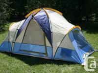 Hillary Tent. Roomy Dome tent, was used lightly one