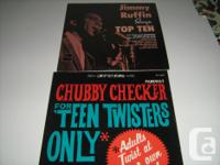 """For sale are 3 lp,s for $28. 1)""""C. Checker-""""For Teen"""