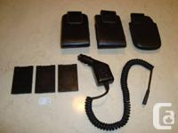 3 Blackberry Bold 9780 Cases w / Swivel Clip, Vehicle