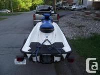 Hi, I have for sale a 2004 SEADOO GTI 3 seater in mint
