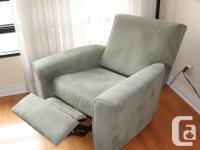 "From Italy by Natuzzi 3 Seater Couch, about:86"" w x"