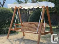 I can deliver or meet up 3 Seater Hardwood Outdoor