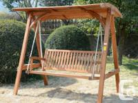 I can deliver or meet up 3 Seater Outdoor Patio Swing