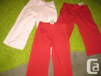 3 sets of Old Navy Cotton Trousers - All new with tags