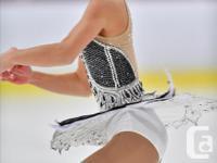 #3 TINA LE Figure Skating Dress - Size 14 (Adult XS) -