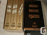 clearance sale 50% OFF on the Star Wars Video Tapes (3)