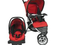Awesome new Safety First Stroller with Carseat. Breaks